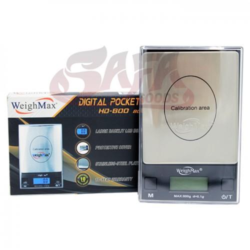 Digital Pocket Scale - WeighMax Scale 0.1g (HD800)