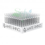 White Rhino Glass Chillums 100ct