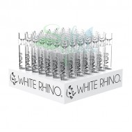 White Rhino Glass XL Chillums 49ct