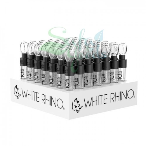 White Rhino Glass Slider Blunts 49ct