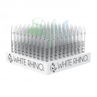 White Rhino Glass Pyrex Straws 100ct