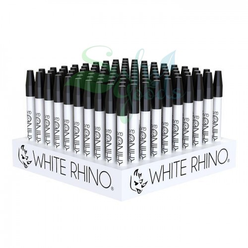 White Rhino Ceramic Straws 100ct