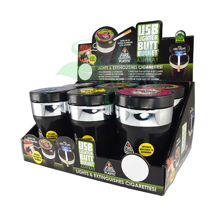 Smokezilla Butt Buckets Display Boxes