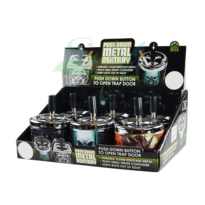 Smokezilla Ashtrays Display Boxes